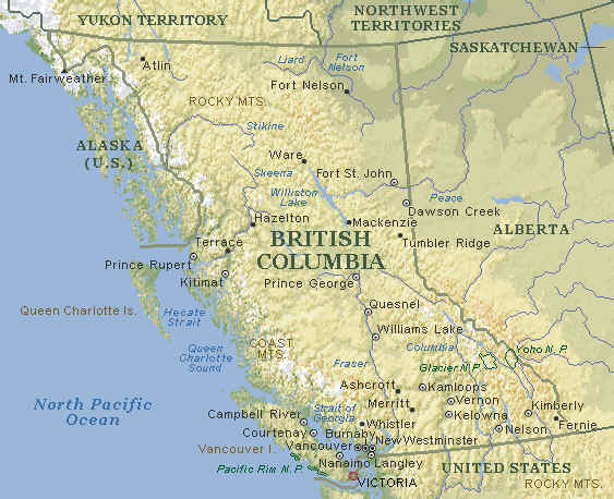 Map Of Canada British Columbia.Map Of Victoria Bc Vancouver Island Map Victoria Bc Information