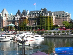picture of the Fairmont Empress Hotel