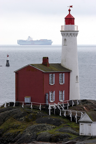 fisgard lighthouse photo, courtesy of Tourism Victoria & Tony Austin