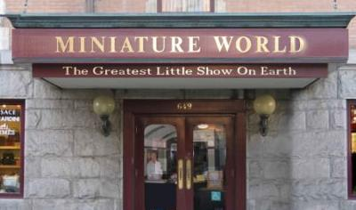 Entrance to Miniature World