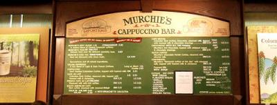Murchies' Menu