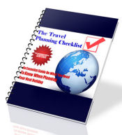 travel planning checklist